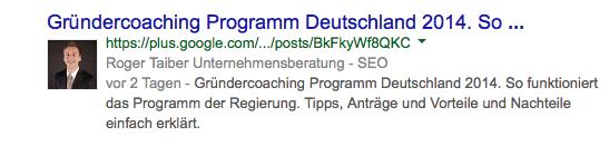 Google Authorship wird reduziert