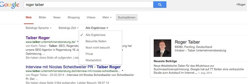 Roger Taiber SEO Agentur Regensburg