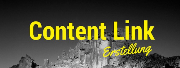Contentlinks – Was sind Contentlinks?