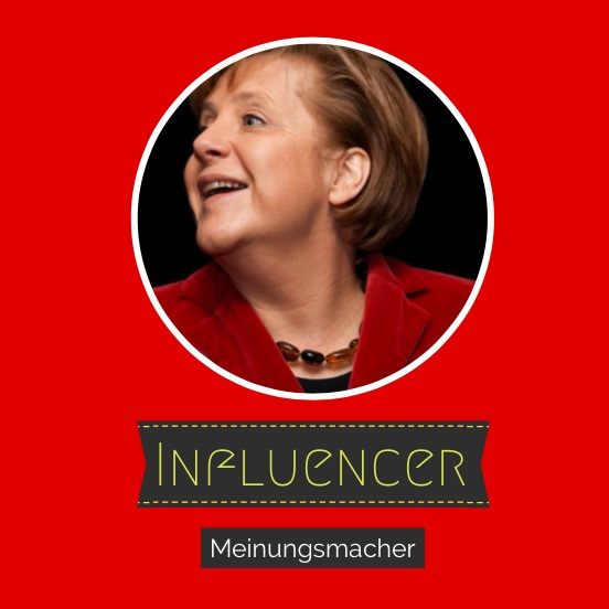 Influencer Bild