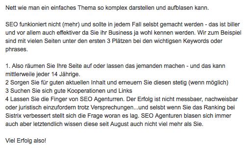 SEO Berater Regensburg
