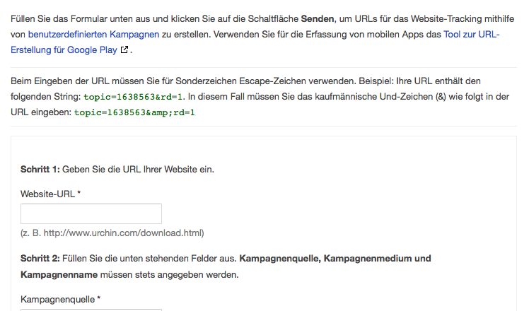 Facebook Werbung in Google Analytics tracken