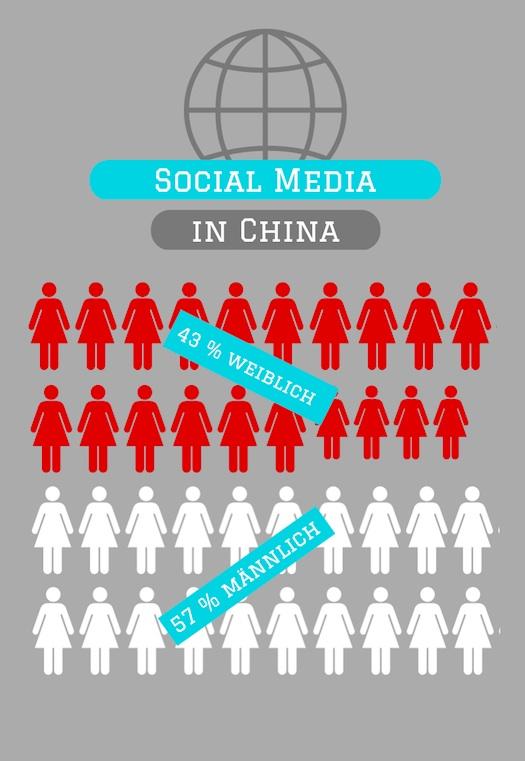 Social Media Anteil China