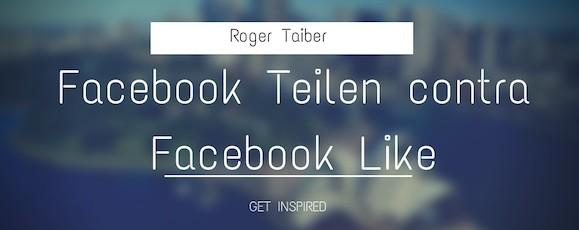 Facebook Gefällt mir Button durch Share Button austauschen