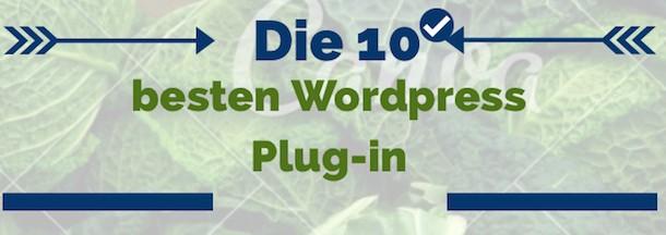 Die 10 besten WordPress Plug-in