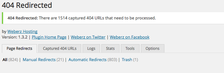 404 Redirected SEO Plugin