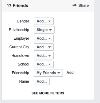Facebook Graph Search nutzen