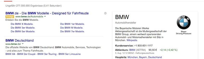 keyword firmenname in adwords bewerben - Bmw Bewerbung