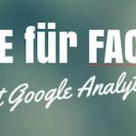 Mit Google Analytics die Facebook Conversion erhöhen