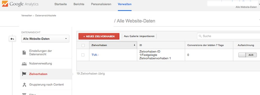 Google Analytics Tracking mit Contactform 7