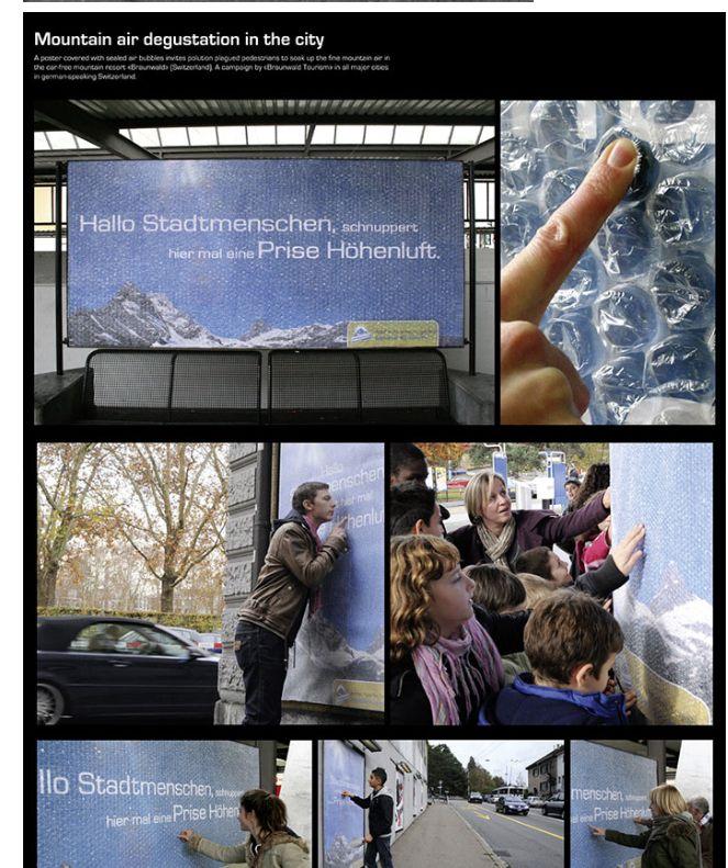 Aktion Guerilla Marketing 2015