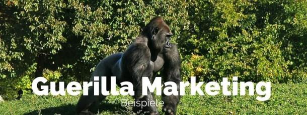 Guerilla Marketing Beispiele – Aktionen