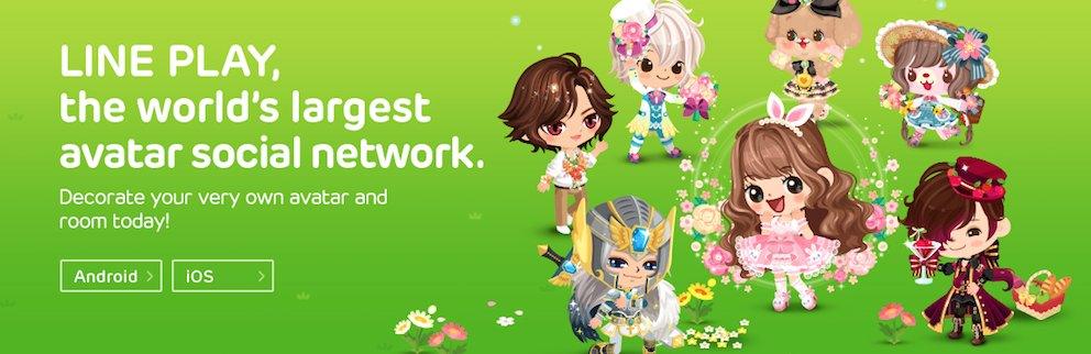 Line Japanisches Social Media