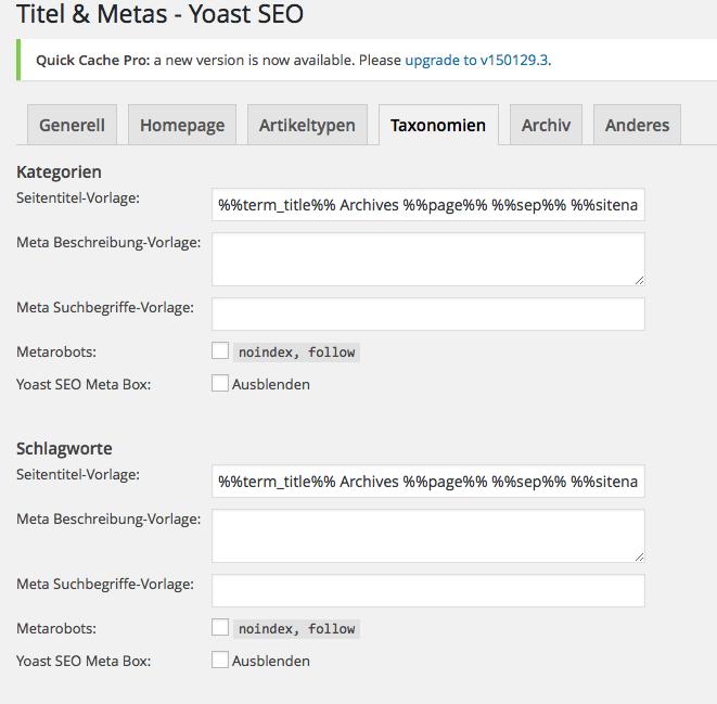 WordPress Tags für SEO nutzen