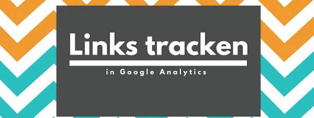 Links tracken in Google Analytics