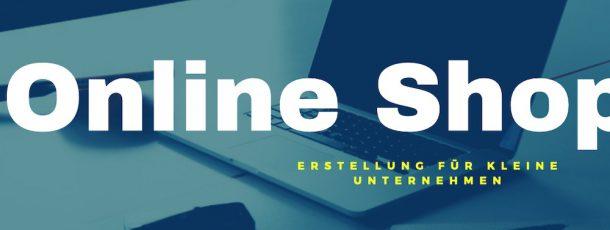 Webseite mit kleinem Online Shop erstellen