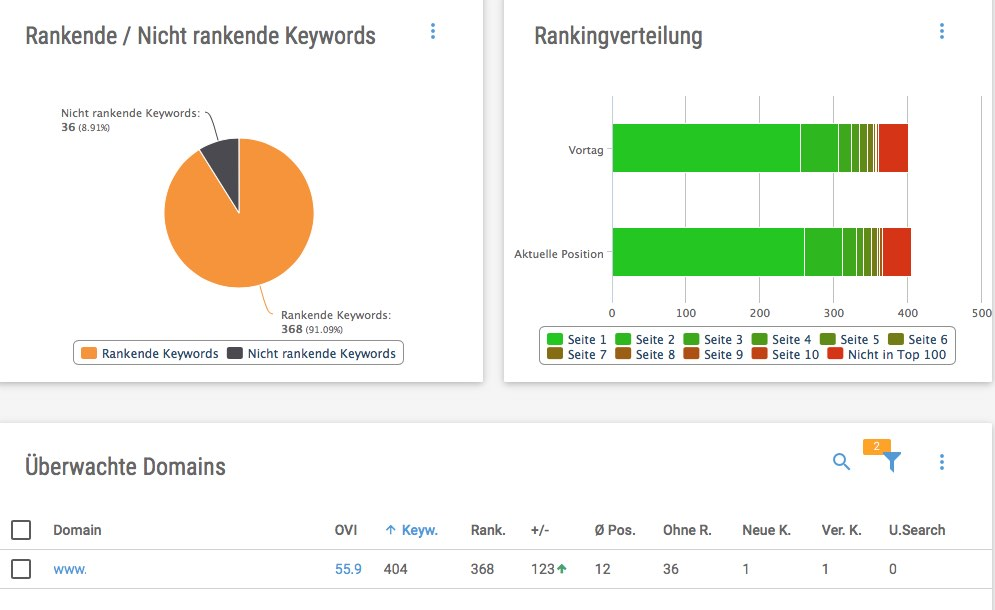 Auswertung Keyword Monitoring