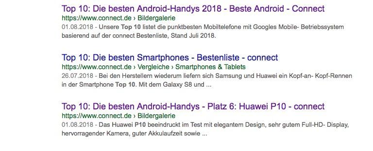 Top 10 Contenterstellung für GoogleTop 10 Contenterstellung für Google